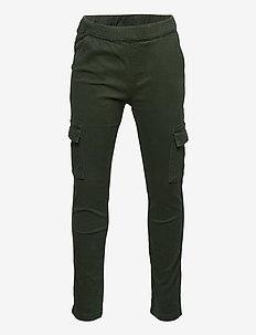 LWPOWAI 603 - PANT - bukser - dark green