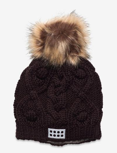 LWANITTA 702 - HAT - beanie - dark brown