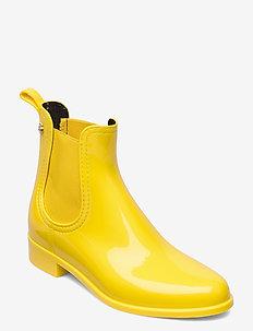 COMFY 30 - platte enkellaarsjes - vibrant yellow