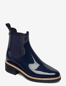 AVA 12 - chelsea boots - naval