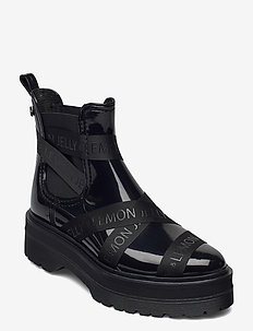FRANCESCA 01 - chelsea boots - black
