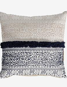 Selmia cushion 45x45 cm. - kuddar - off wh./m. blue