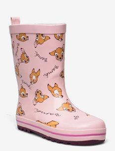 DISNEYCLASSICS Rainboots - gummistøvler uten linjer - pink