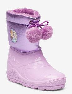 FROZEN  Snowboot - gumowce ocieplane - lilac