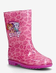 PAW PATROL RAINBOOT - les bottes non doublées en caoutchouc - pink