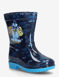 PAW PATROL RAINBOOT - uforede gummistøvler - dark blue