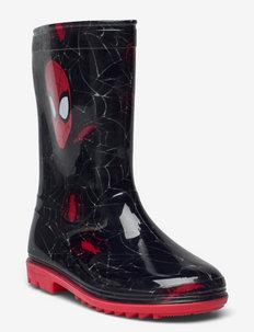 SPIDERMAN Rainboots - gummistøvler uten linjer - black