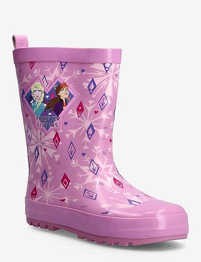 FROZEN Rainboots - gummistiefel - pink