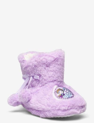 FROZEN2 house shoes - hausschuhe - lilac