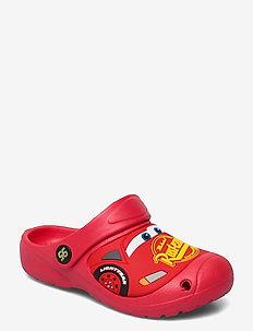 Cars clog - hausschuhe - red