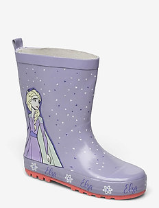 frozen rainboot - gummistiefel - lilac