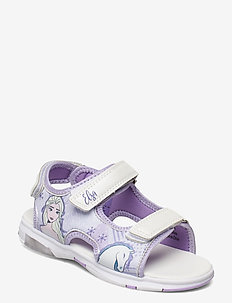 frozen sandal with lights - sko - lilac