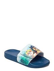 paw patrol aqua slipper - BLUE