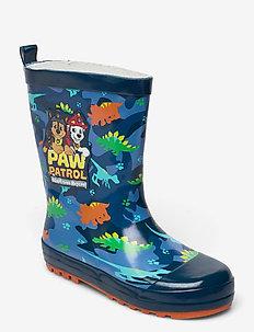 paw patrol rubber boot - gummistövlar - navy