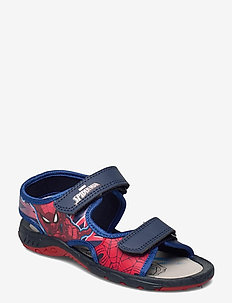 spiderman sandal - sko - navy/red