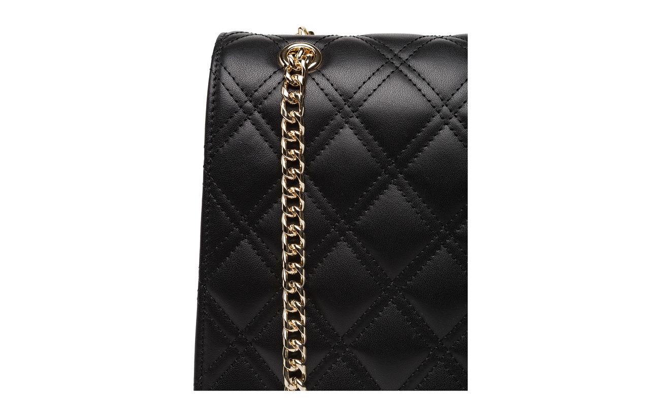 Bag Black silver 100 Cuir Flora Leowulff E5q8UU