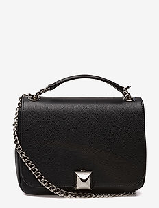 North bag - skuldertasker - black floter