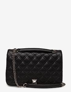 Flora bag - BLACK/SILVER