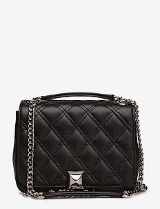 Daisy bag - skuldertasker - black/silver
