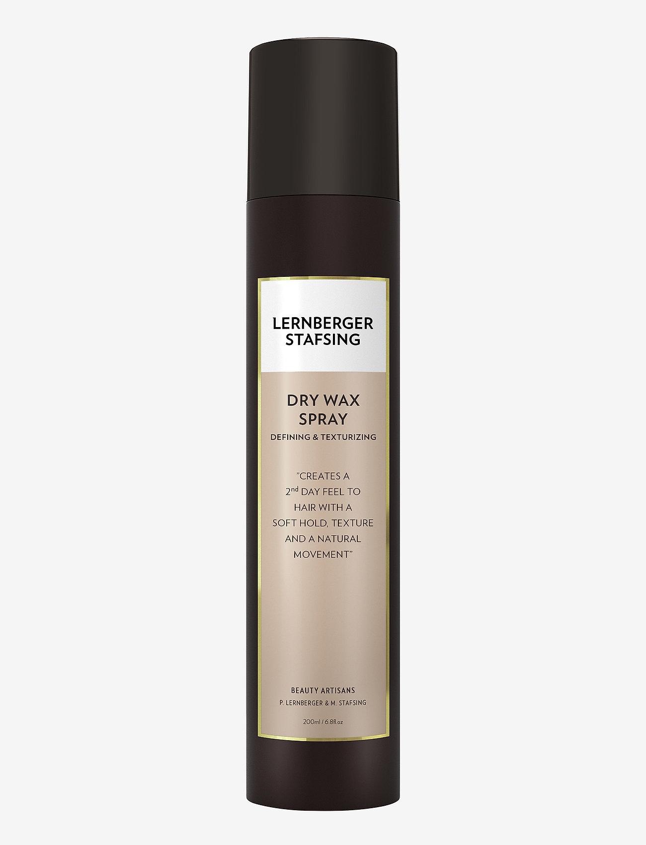 Lernberger Stafsing - Dry Wax Spray - hårspray - no colour - 0