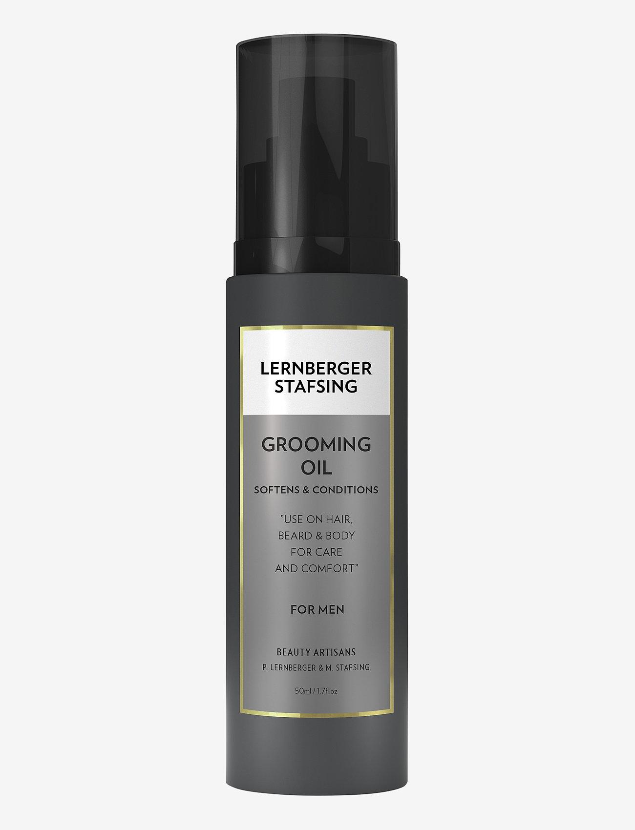Lernberger Stafsing - Grooming Oil - skægolie - no colour - 0