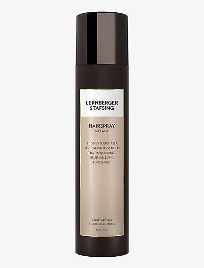 Hairspray Soft Hold - spray - no colour