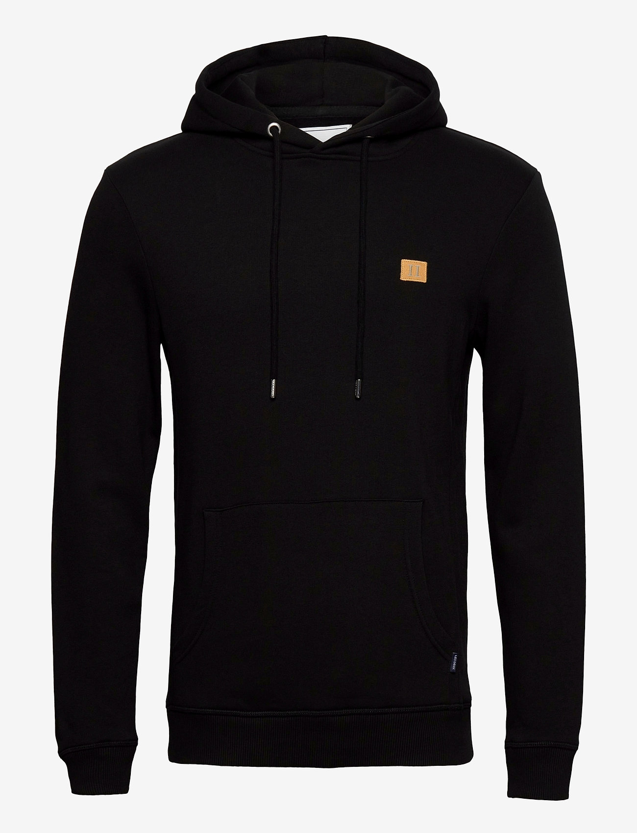 Les Deux - Boozt Piece Hoodie - basic sweatshirts - black/yellow - 0