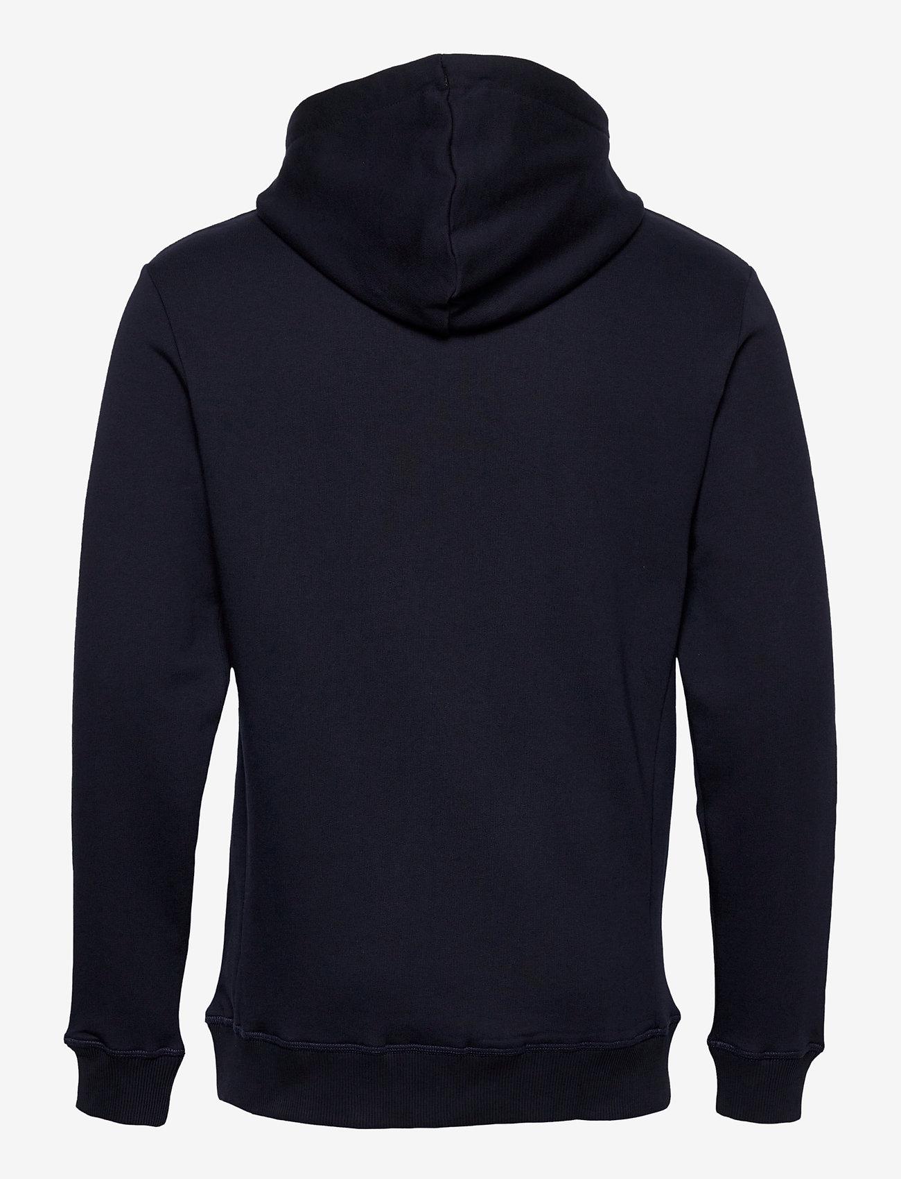 Les Deux Boozt Piece Hoodie - Sweatshirts DARK NAVY/WHITE-NAVY - Menn Klær