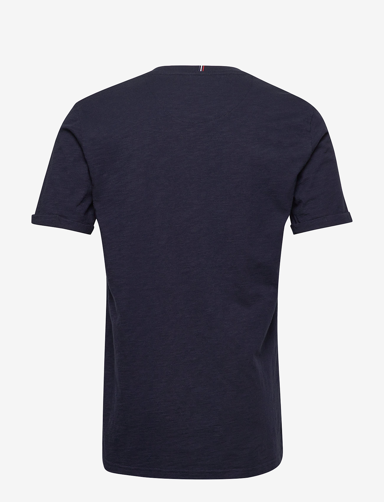Les Deux - Antibes T-shirt - printed t-shirts - dark navy/off white