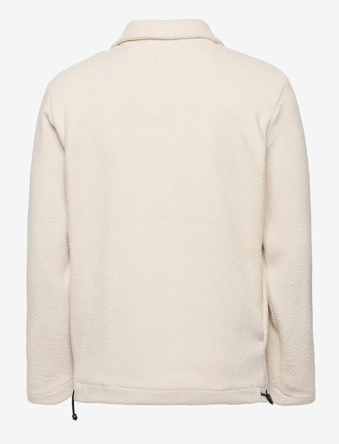 Les Deux - Dallas Fleece Rugby Sweatshirt - basic-sweatshirts - off white - 1