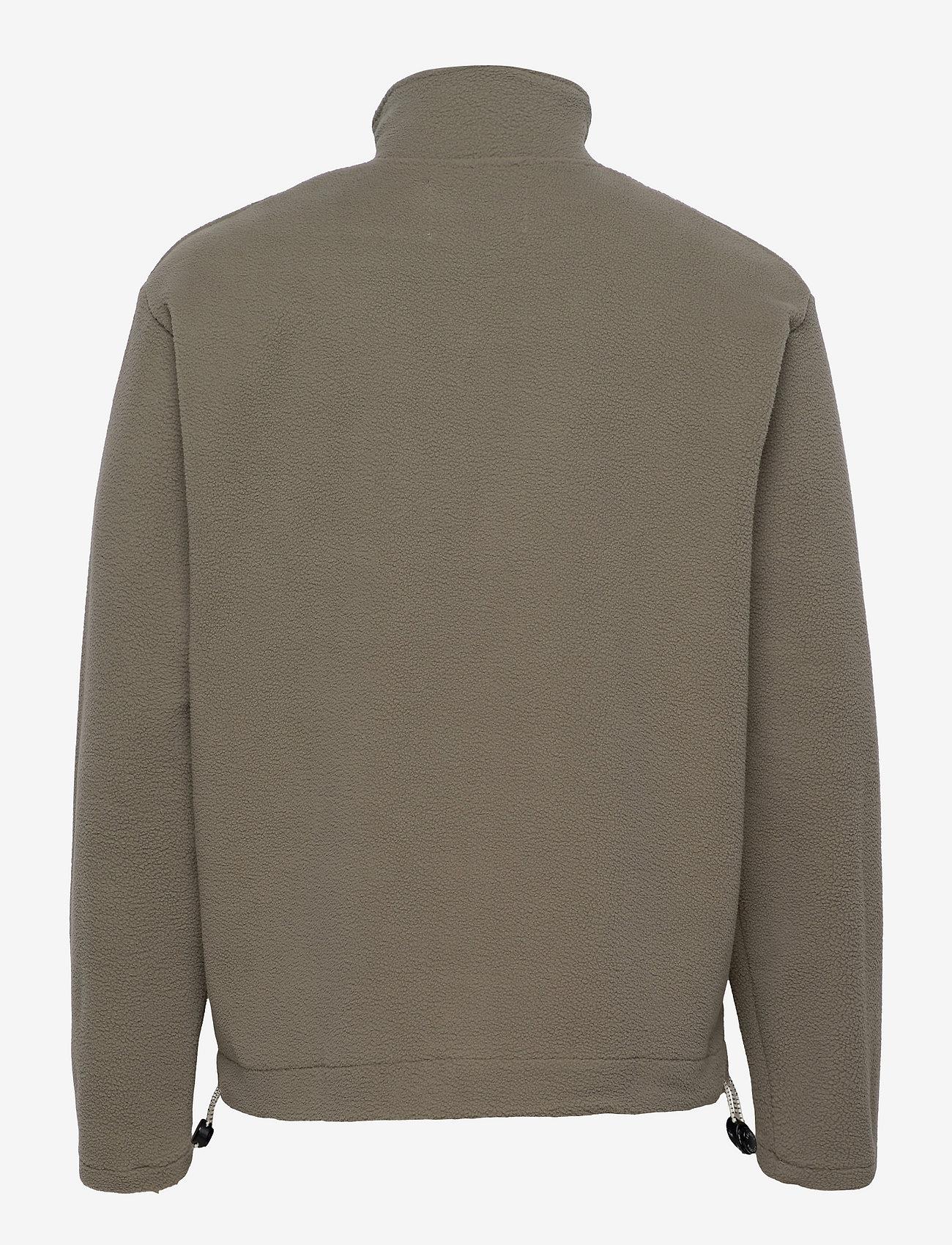 Les Deux - Bond Fleece Halfzip Sweatshirt - half zip - lichen green - 1