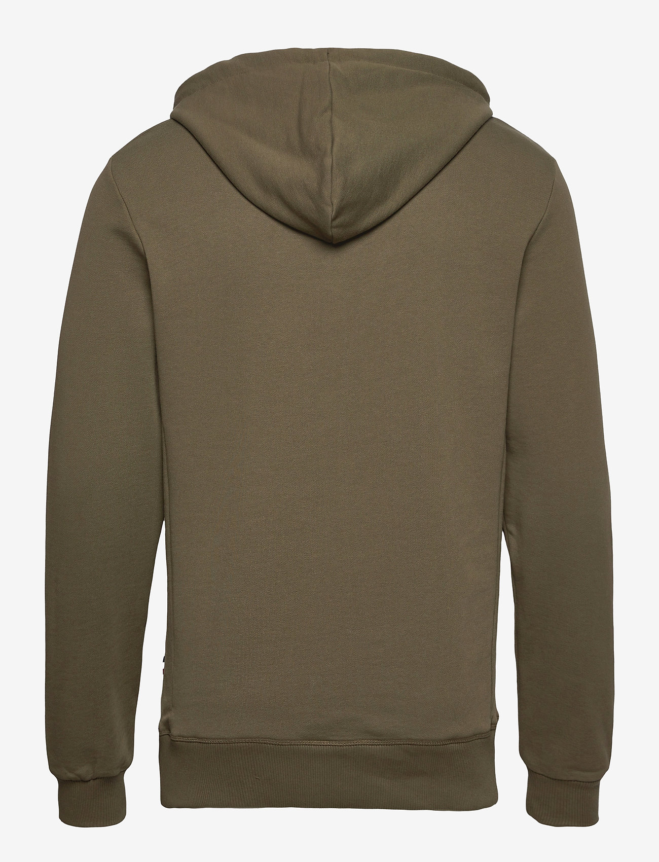 Les Deux Shield Hoodie - Sweatshirts TURTLE GREEN - Menn Klær