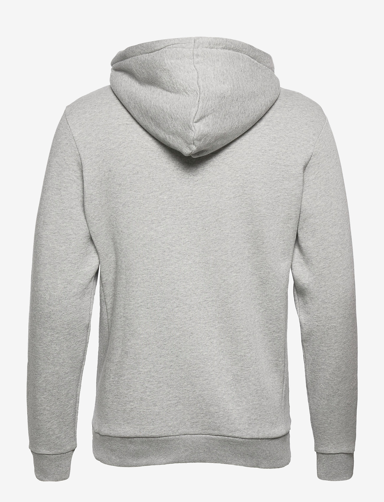 Les Deux - Clinton Zipper Hoodie - light grey melange/black - 1