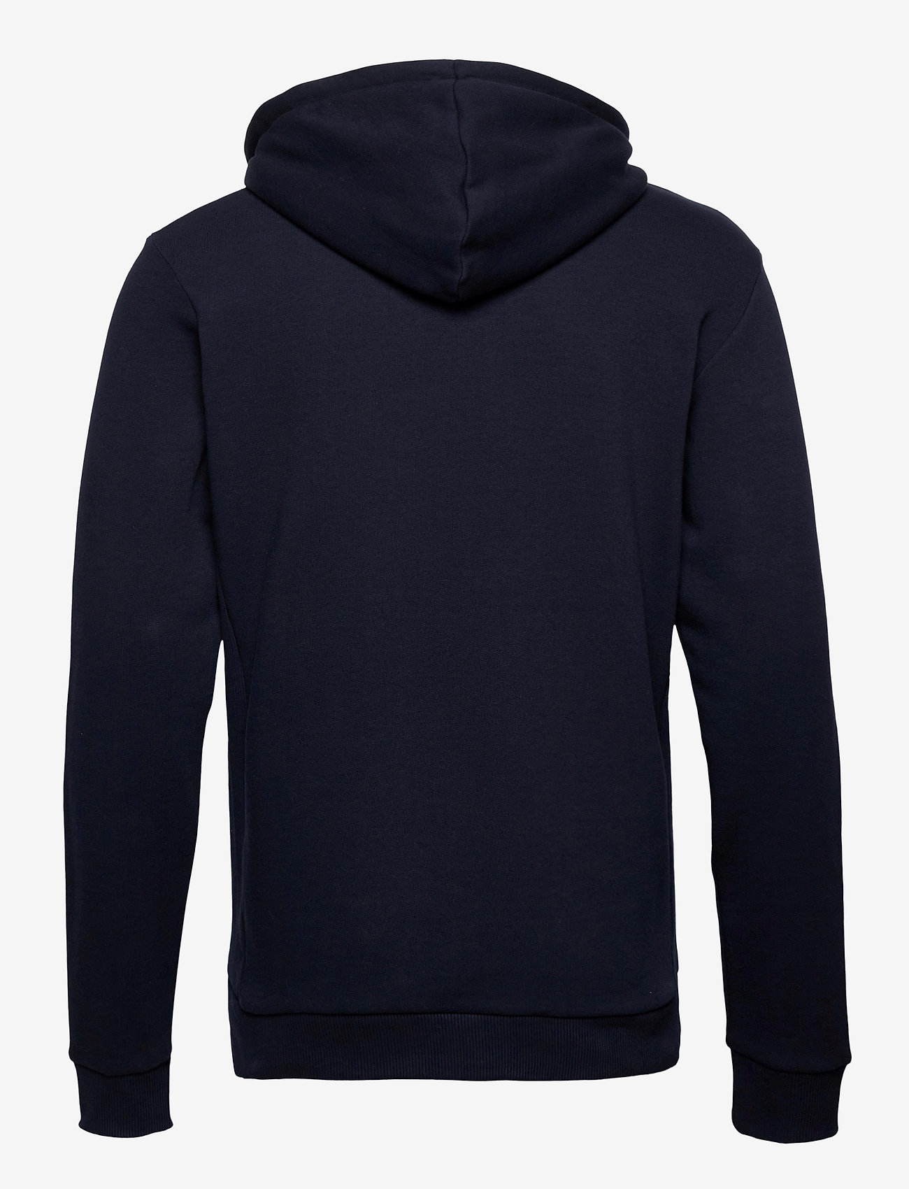 Les Deux - Clinton Zipper Hoodie - basic sweatshirts - dark navy/black - 1