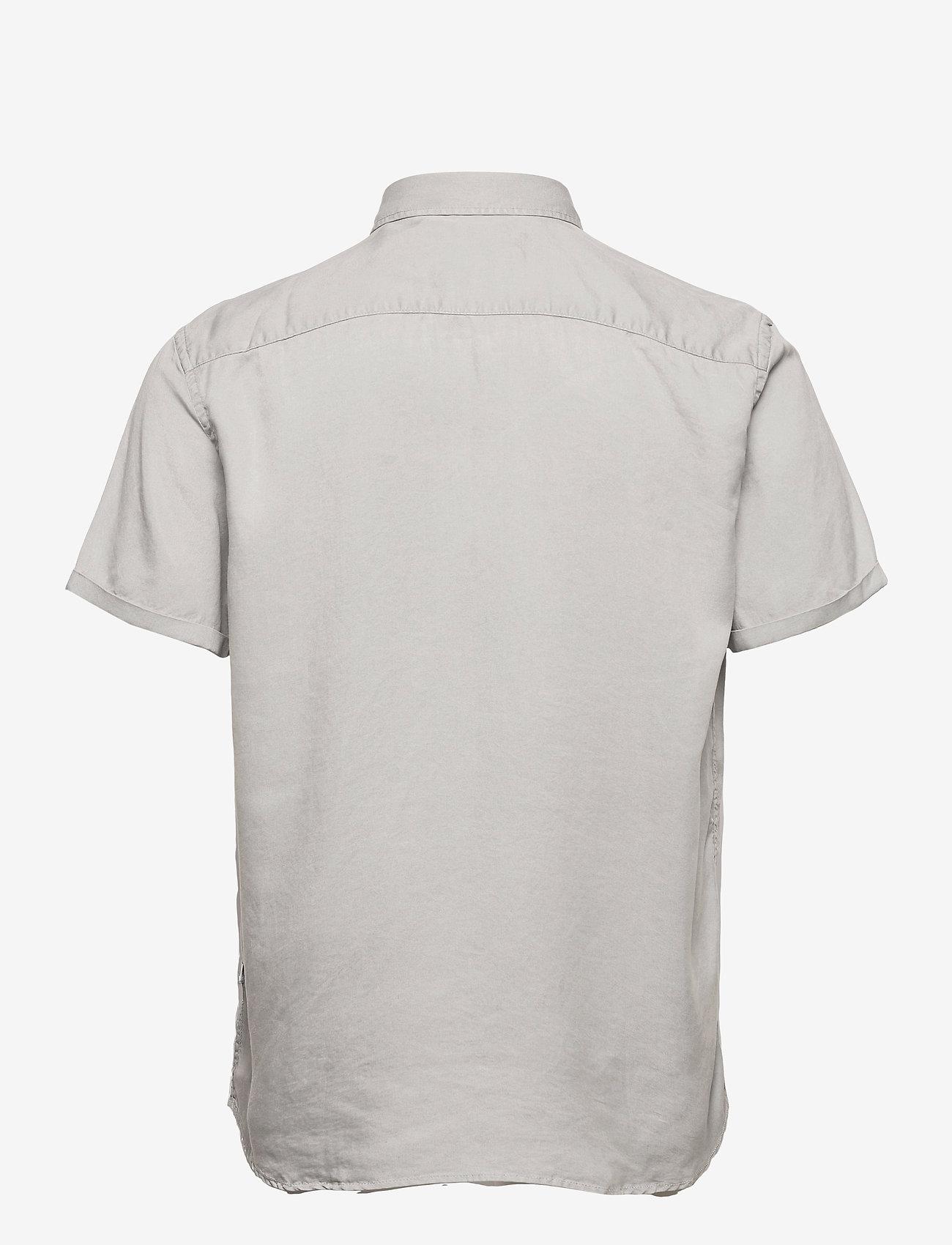 Les Deux - Leonardo Tencel Twill SS Shirt - koszule w kratkę - mirage gray - 1