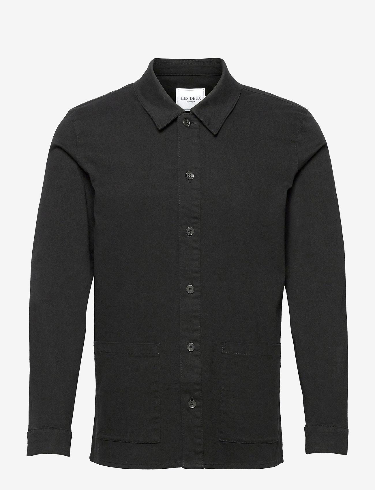 Les Deux - Pascal Overshirt - kleding - black - 0