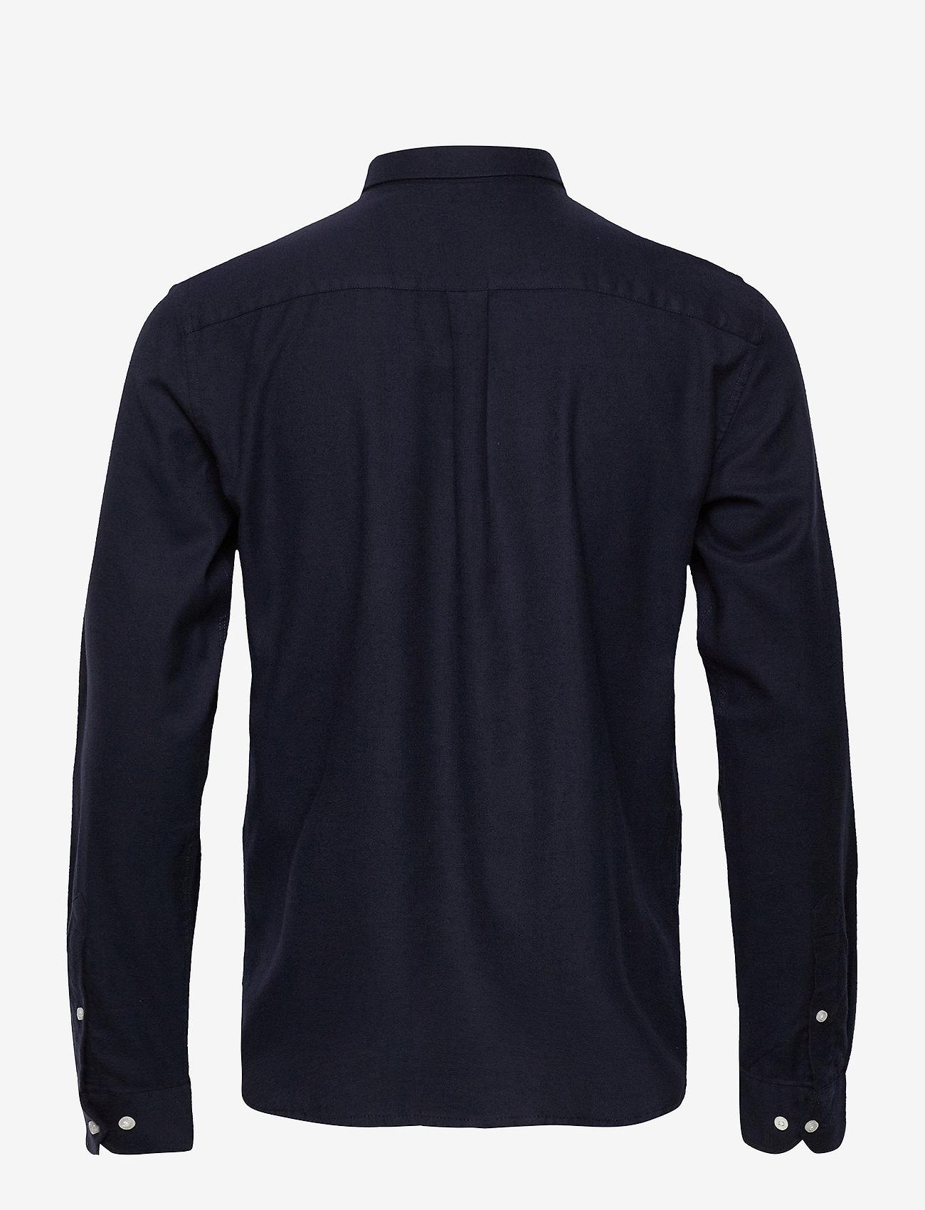 Harrison B.d. Brushed Shirt (Dark Navy) (81.75 €) - Les Deux W4U1J
