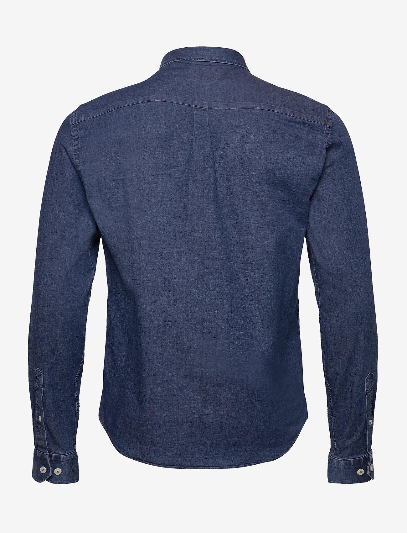 Les Deux Harper Chambray Shirt - Skjorter DARK NAVY - Menn Klær