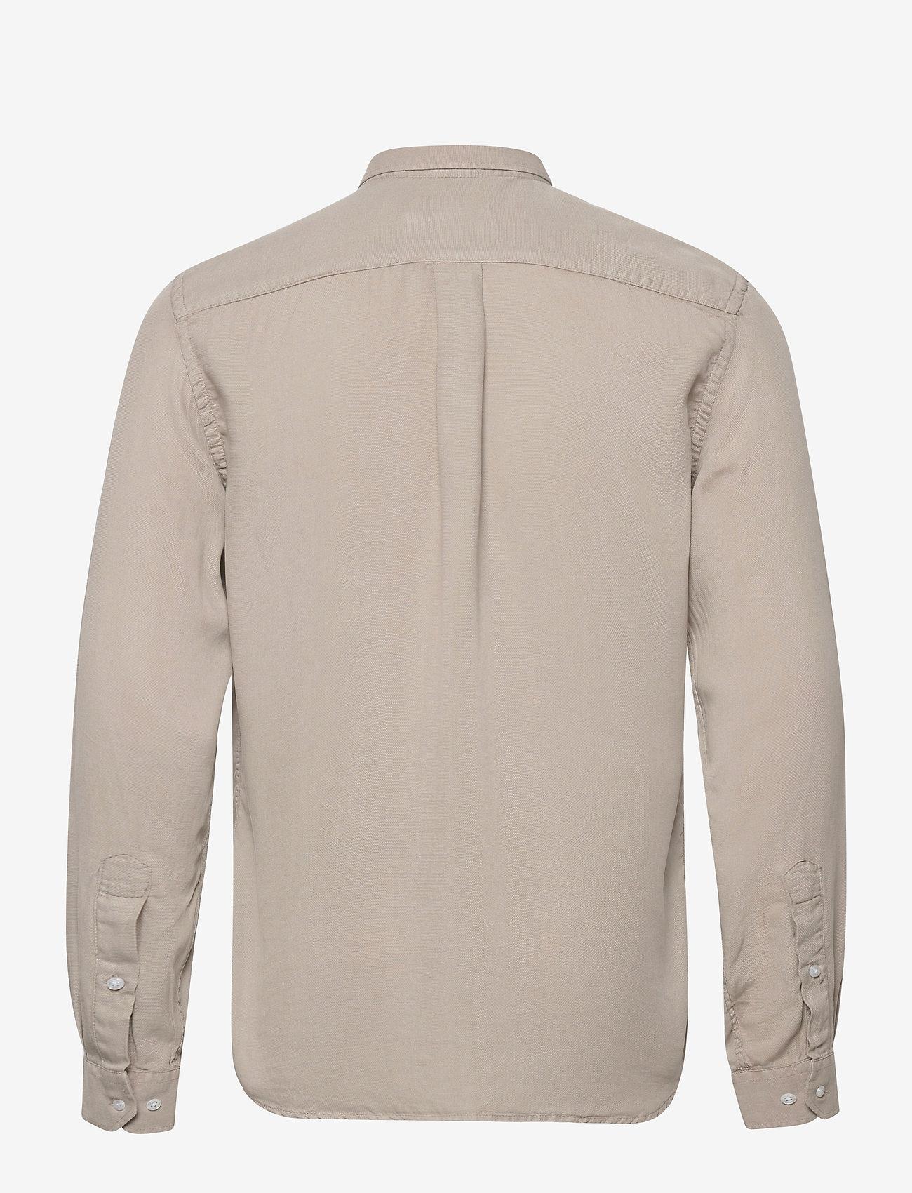 Les Deux - Laurent Tencel Dobby Shirt - chemises à carreaux - dark sand - 1