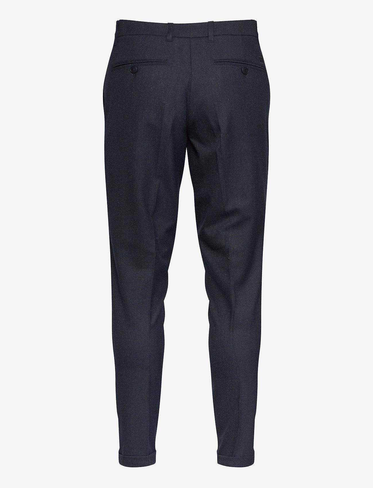 Les Deux UPC Como Melange Suit Pants - Bukser DARK NAVY - Menn Klær