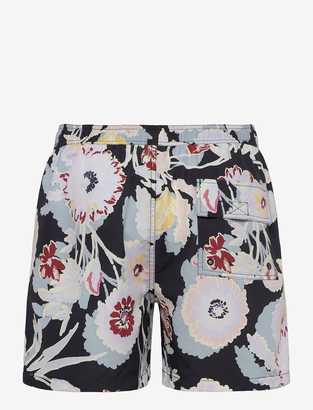 Les Deux - Quinn AOP Fiori Swim Shorts - shorts de bain - black/multicolor - 1