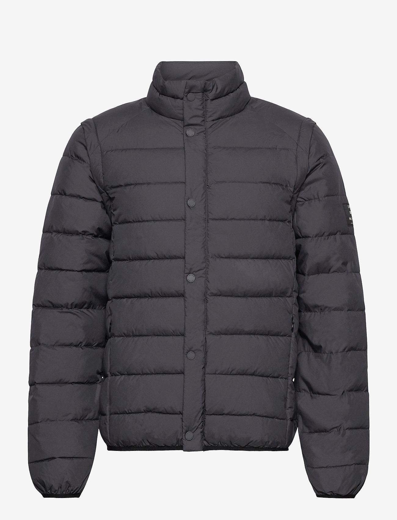 Les Deux - Vermont Jacket - ECOALF X LES DEUX - donsjassen - charcoal - 0