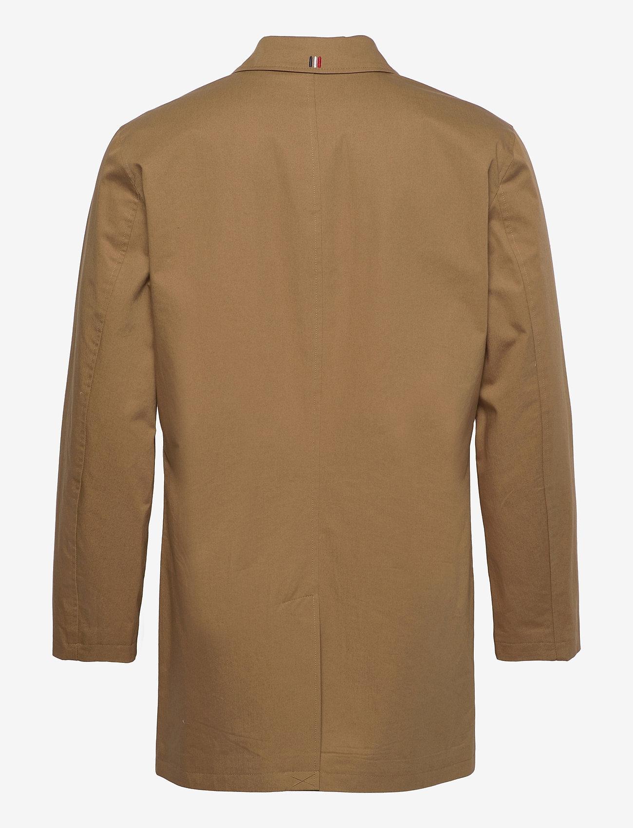 Les Deux - Marley Cotton Coat - wełniane płaszcze - stone brown - 1