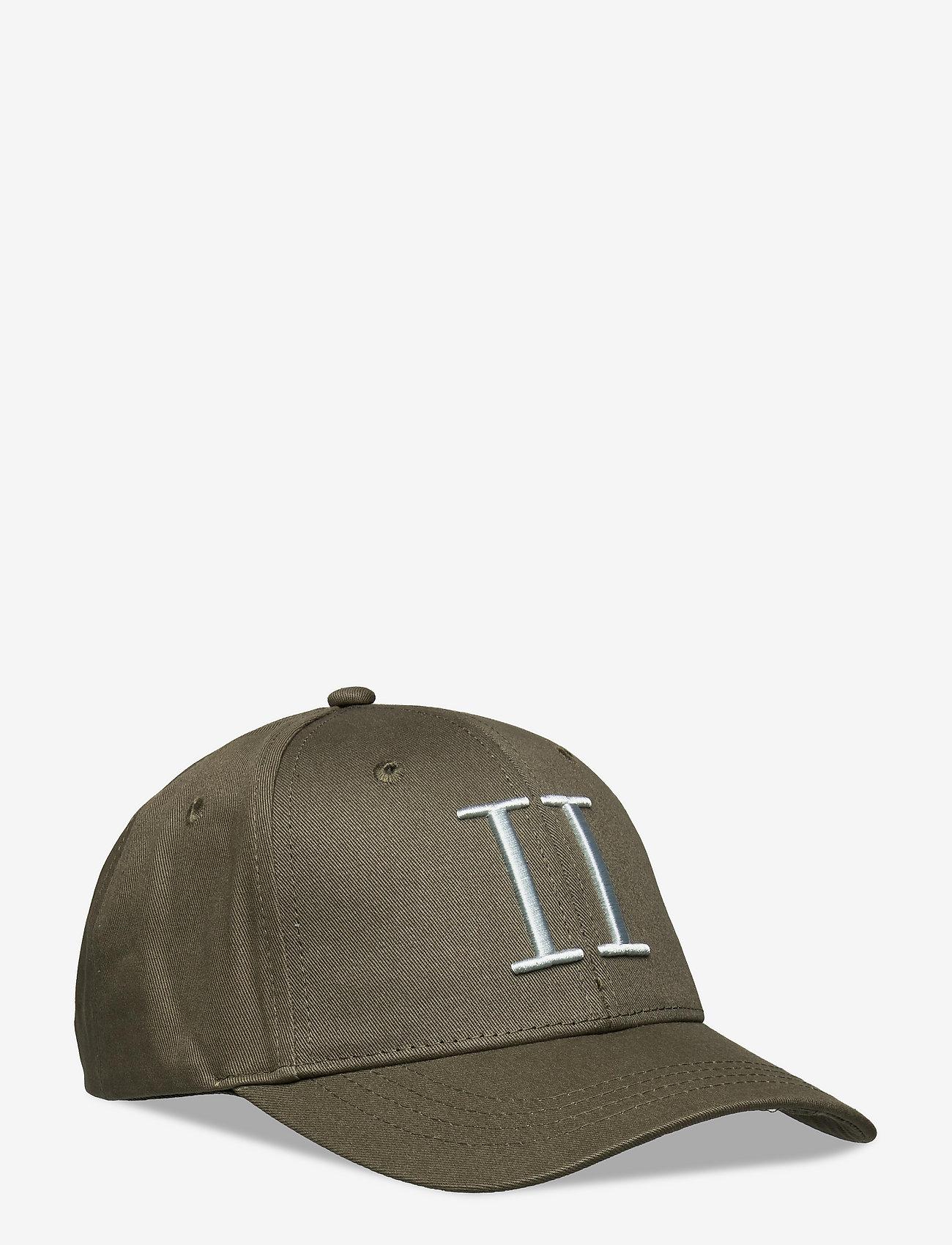 Les Deux - Encore Organic Baseball Cap - czapki - lichen green/mirage grey - 0