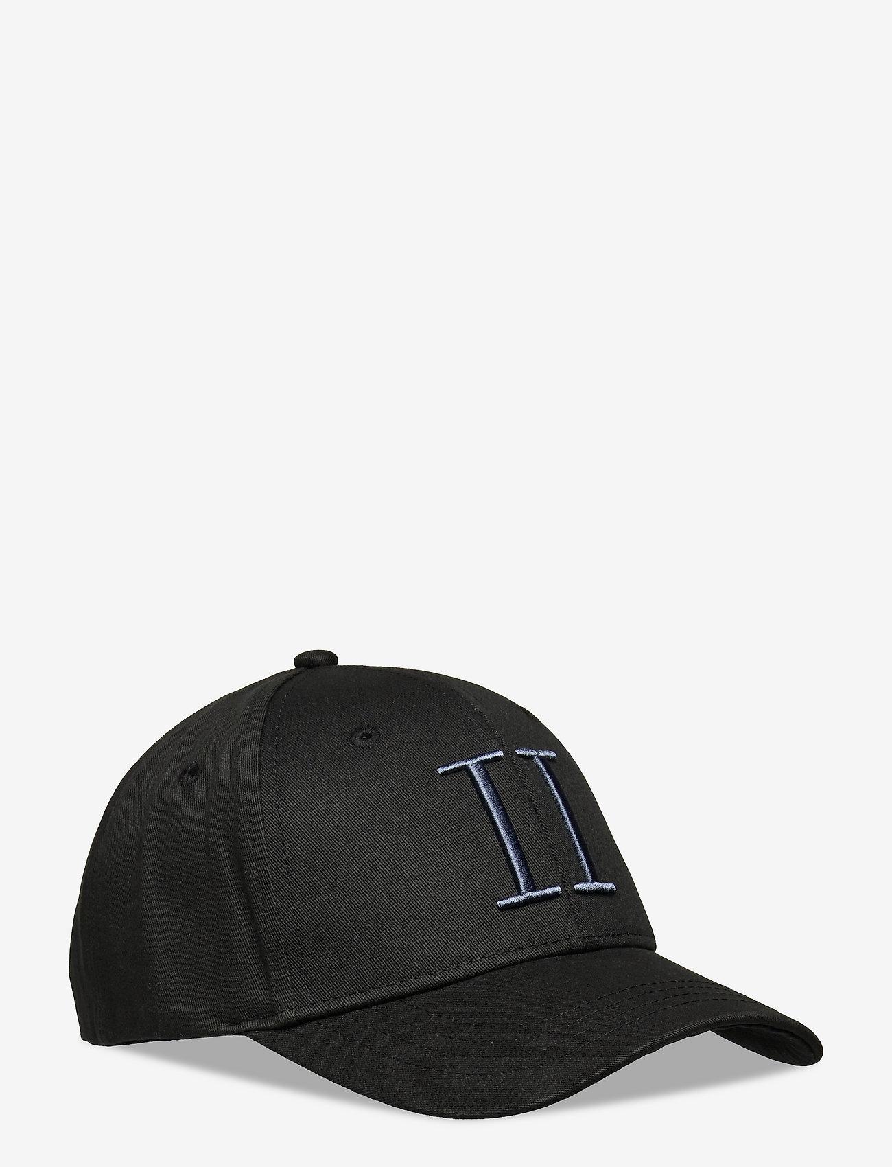 Les Deux - Encore Organic Baseball Cap - czapki - black/china blue - 0