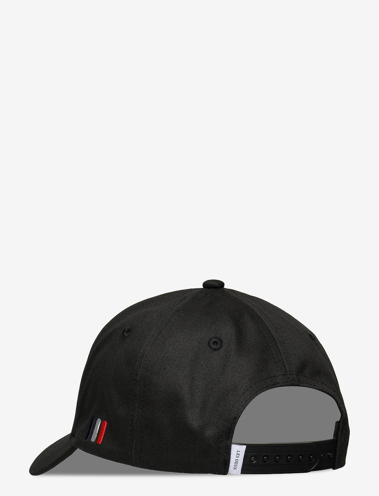 Les Deux - Encore Organic Baseball Cap - czapki - black/china blue - 1