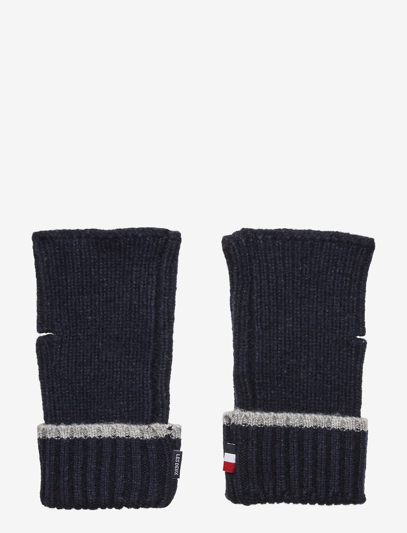 Les Deux - Rieba Gloves - rękawiczki - dark navy - 1