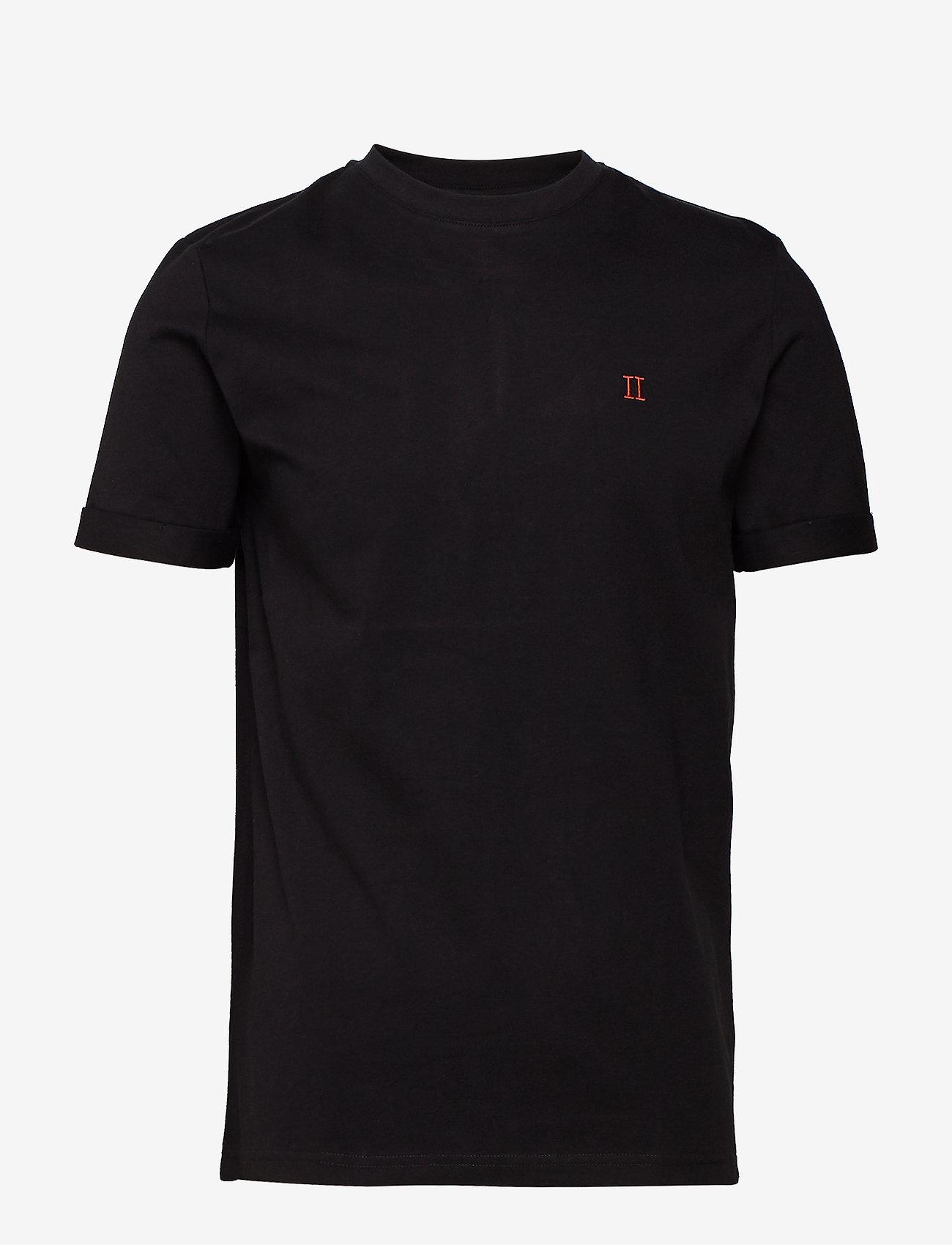 Les Deux - Nørregaard T-Shirt - perus t-paidat - black - 0