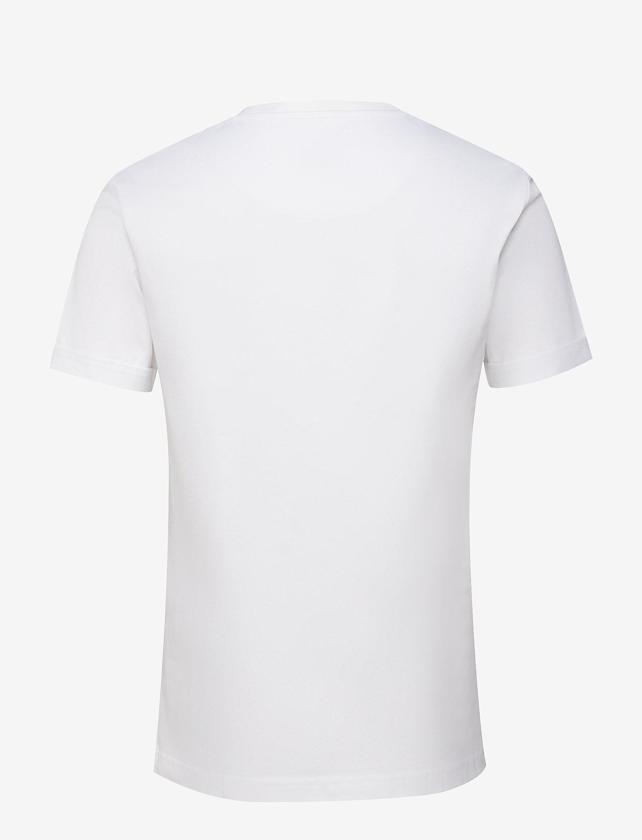 Les Deux - Nørregaard T-Shirt - logo t-shirts - white