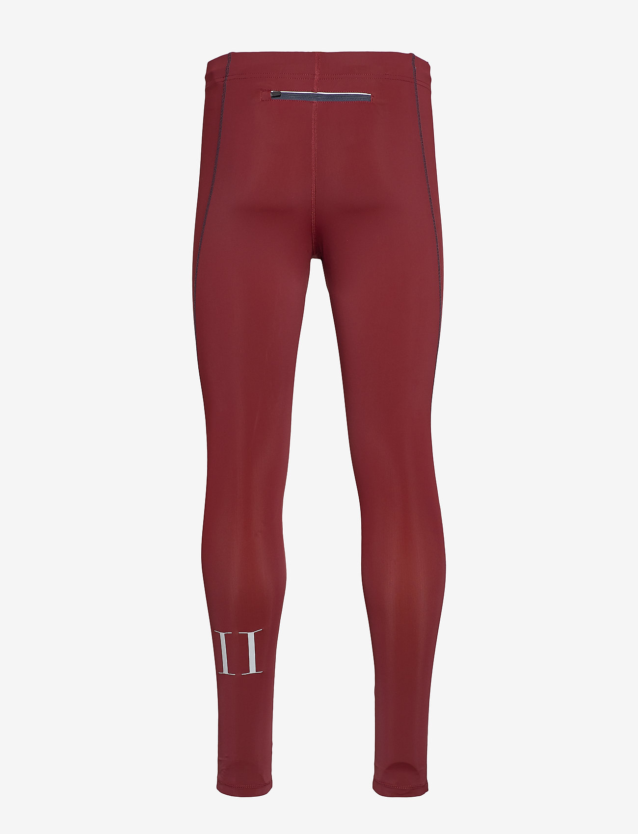 Les Deux - Men's Long Tight Sogndal - running & training tights - clay red - 1